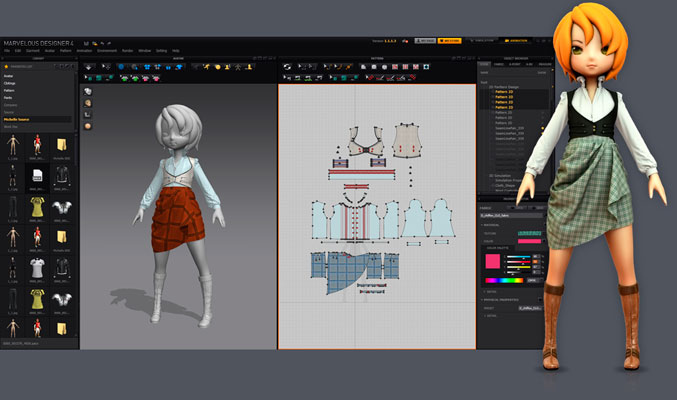 Программу на русском marvelous designer